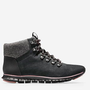 NWT Cole Haan ZERØGRAND Hiker Boot, Black Size 7